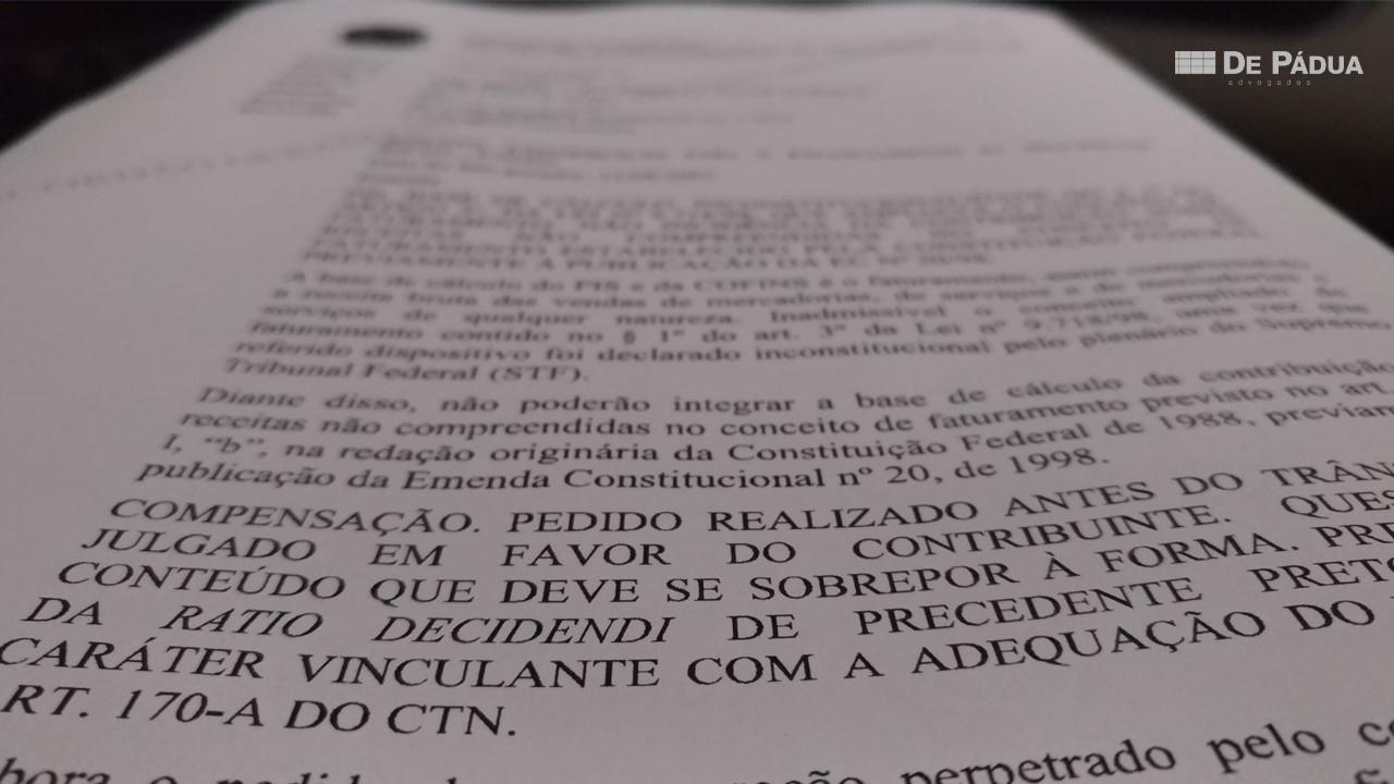 CARF autoriza compensação tributária antes do trânsito em julgado