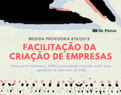 Medida Provisória flexibiliza criação de empresa e obtenção de CNPJ