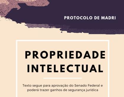 Direto de marcas - Protocolo de Madri aprovado na Câmara