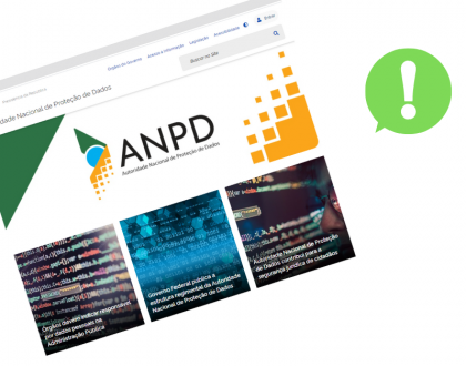 Site oficial da Autoridade Nacional de Proteção de Dados já está no ar